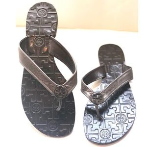 {Tory Burch} Leather Thong/Flip Flip Sandals